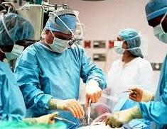 عملية جراحية للركبة حقيقية