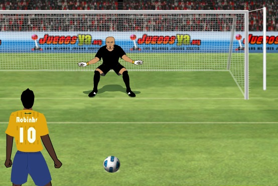 تسديد الكرة على المرمى