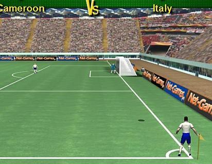 كرة قدم ضربات ركنية حقيقية