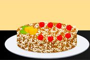 طبخ كيكة جوز الهند