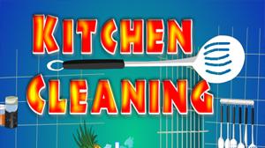 تنظيف المطابخ المتسخة