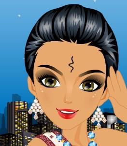 تنظيف بشرة عروس هندية