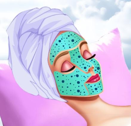 تنظيف بشرة اميرة ديزني النائمة