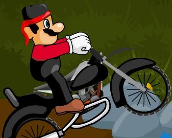 سوبر ماريو الدراجات النارية