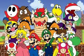 سوبر ماريو واصدقائه