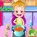 تعليم الطبخ للاطفال