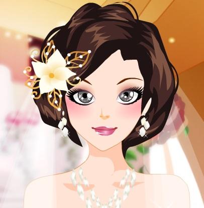 تنظيف وجه العروسة الجميلة