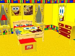 تنظيف غرفة سبونج بوب