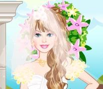 تلبيس العروسة باربي جديدة وجميلة جدا