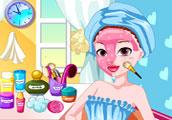 تنظيف وجه البنت الفقيرة