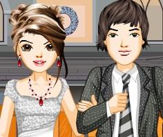 تلبيس العريس والعروسة جديدة جدا