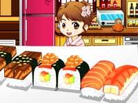 طبخ السوشي فلاش