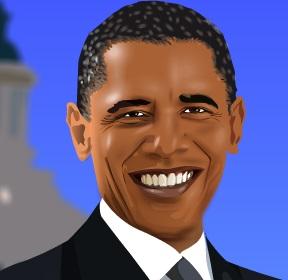 تلبيس باراك اوباما