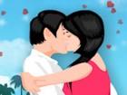 تقبيل اولاد وبنات