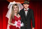 تلبيس عروسة باربى وعريسها