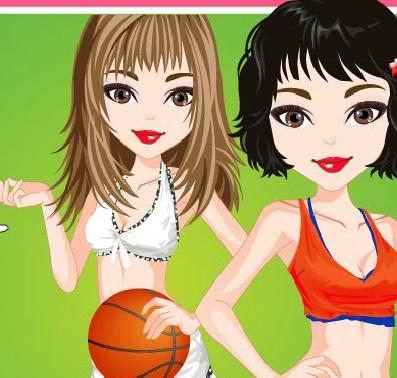 تلبيس بنات ملابس رياضية