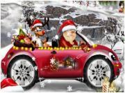 سباق سيارات بابا نويل