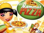 طبخ بيتزا ماما