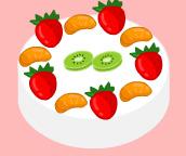 طبخ كيك الفاكهة المحلى
