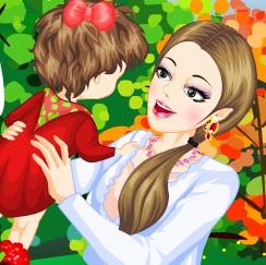تلبيس الام والطفل الرضيع