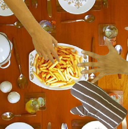طبخ بطاطس محمرة