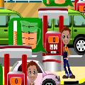 موظف محطة الوقود