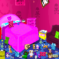 تنظيف غرفة نوم الاميرة