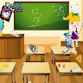 تنظيف و ترتيب فصول المدرسة