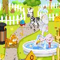 تنظيف حديقة الحيوان