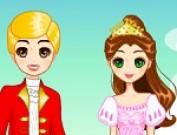تلبيس الملك والملكة في القصر