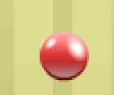 الكرة المجنونة الحمراء