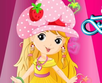 تلبيس باربي عاشقة الفراولة