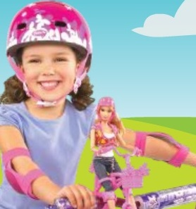باربي سباق الدراجات