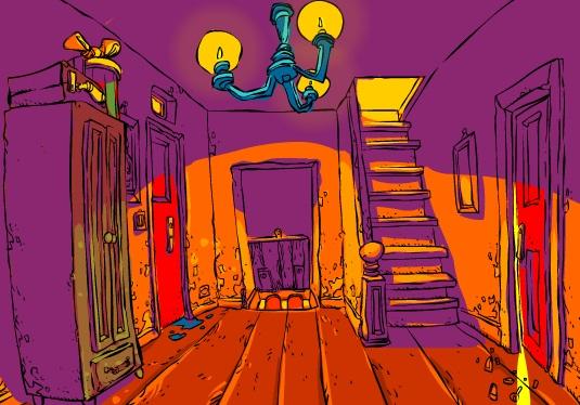 الهروب من البيت العظيم
