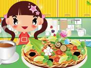 طبخ البيتزا الحقيقية