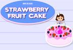 طبخ كعكة الفاكهة