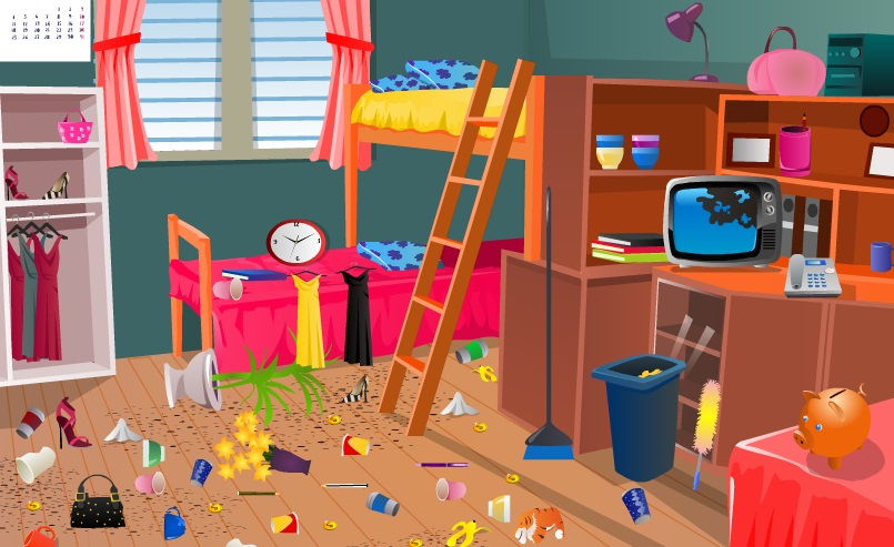 بنات 2015 تنظيف المنزل