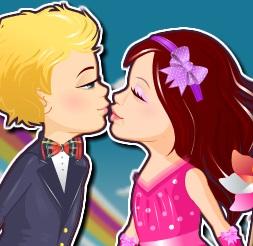 قبلات العاشقين