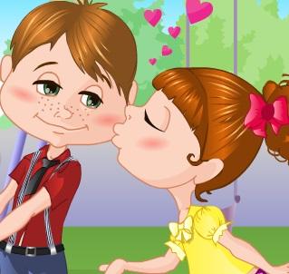 قبلات حب حقيقية