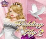 حفلة زواج براتز وتلبيسها فساتين زفاف