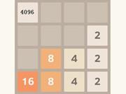 لعبة دمج الارقام المتشابهة 4096