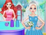 اريل محل فستان الزفاف
