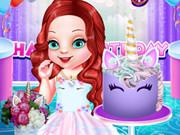 حفلة عيد ميلاد الطفلة أرييل يونيكورن