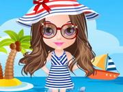 تلبيس اطفال ملابس الصيف