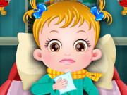 بيبي هازل مريضة