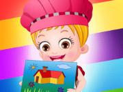 بيبي هازل يتعلم الألوان