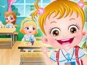 بيبي هازل تنظيف المدرسة