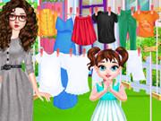 العاب اطفال العاب بنات لعبة غسيل الملابس
