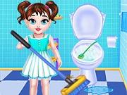 العاب اطفال تنظيف البيت