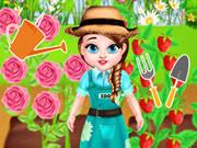 الطفلة تايلور البستانية الصغيرة